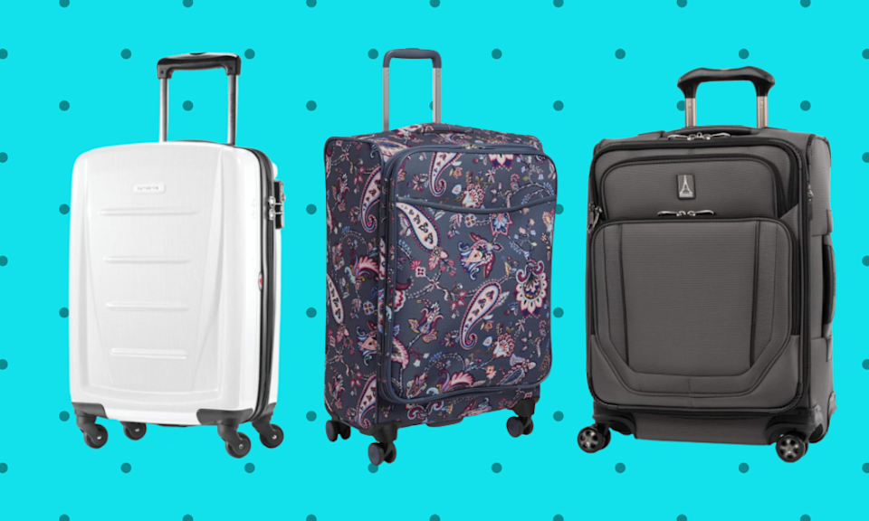 Save nearly 70 percent on suitcases for Amazon Prime Day! (Photo: Amazon)
