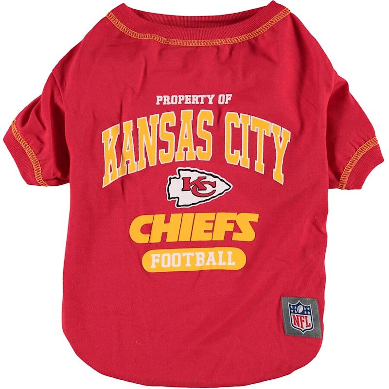 Chiefs Pet T-Shirt