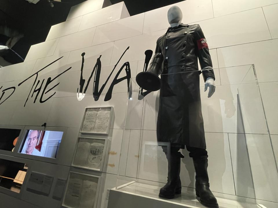 """A fascistic uniform from a Roger Waters solo touring production of """"The Wall"""" - Credit: Chris Willman / Variety"""
