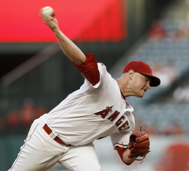 Garrett Richards' raw stuff is elite and his spin rate the best in the game.(AP)