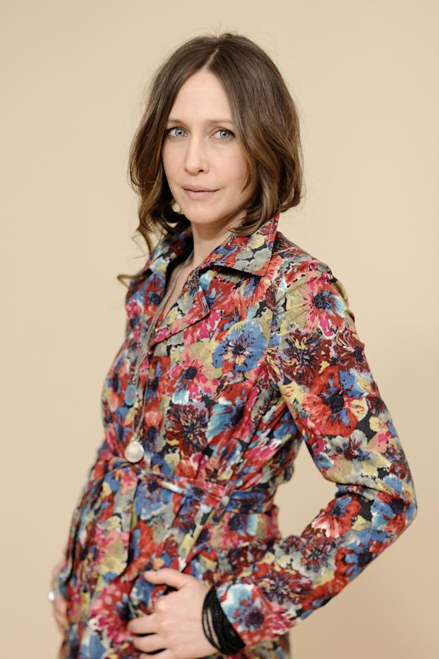 PARK CITY, UT - JANUARY 25:  Actress Vera Farmiga poses for a portrait during the 2012 Sundance Film Festival at the Getty Images Portrait Studio at T-Mobile Village at the Lift on January 25, 2012 in Park City, Utah.  (Photo by Larry Busacca/Getty Images)