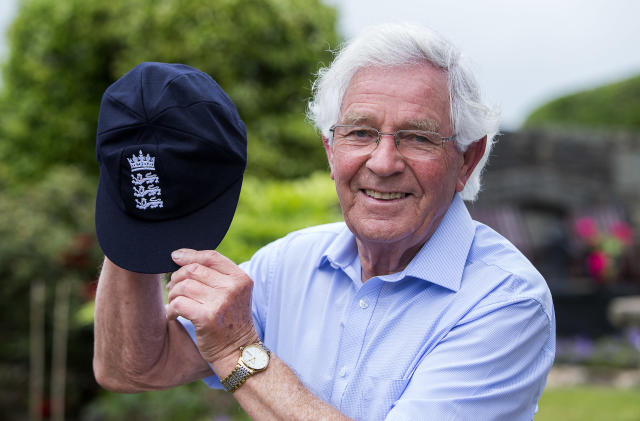 Alan Jones has been formally awarded his England Test cap, 50 years after his sole appearance (handout)