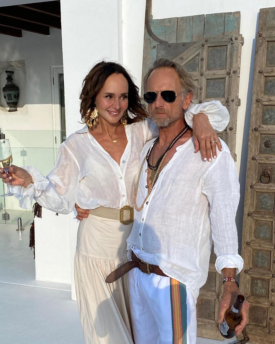 Byron Bay 'born and bread' Kathy and Ralph Brauer are rumoured to be two of the stars of Byron Baes. Photo: Instagram/bisque__