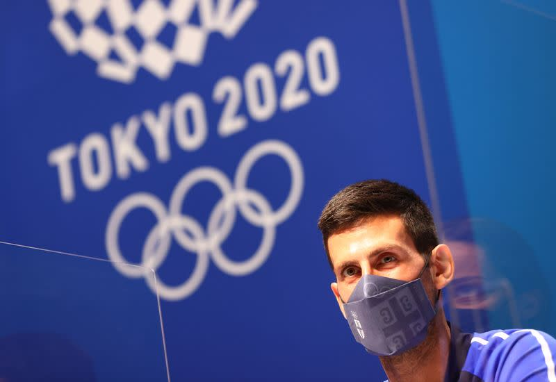 Tokyo 2020 Olympics - Serbian Olympic Committee Press Conference