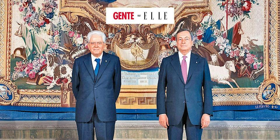 Photo credit: Sergio Mattarella e Mario Draghi