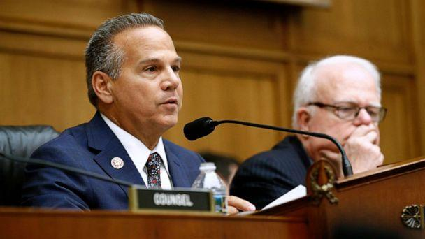 PHOTO: Rep. David Cicilline,left, chair of the House Judiciary antitrust subcommittee, speaks alongside ranking member, Rep. Jim Sensenbrenner, during a House Judiciary subcommittee hearing, July 16, 2019, on Capitol Hill in Washington. (Patrick Semansky/AP)