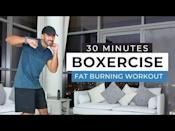 """<ul><li><strong>Equipment: </strong>None</li></ul><p>A fun 30-minute session that's suitable for beginners and intermediate exercisers alike. Instructor Rick gives adaptations for those who need them and if you don't, press on! </p><p><a href=""""https://www.youtube.com/watch?v=iGs-7F_QFoU&ab_channel=GetFitWithRick"""" rel=""""nofollow noopener"""" target=""""_blank"""" data-ylk=""""slk:See the original post on Youtube"""" class=""""link rapid-noclick-resp"""">See the original post on Youtube</a></p>"""