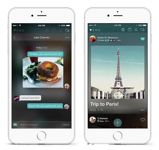 Vero is the anti-Facebook social network that's blowing up on iOS and Android.