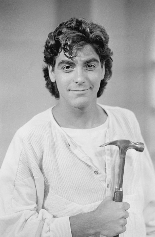 "THE FACTS OF LIFE -- ""Grand Opening"" Episode 3 -- Aired 09/28/1985 -- Pictured: George Clooney as George Burnett -- Photo by: Paul Drinkwater/NBCU Photo Bank"