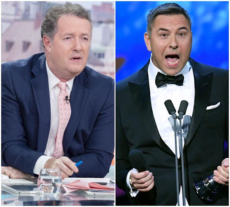 Piers Morgan <i>(left)</i> and David Walliams (Photo: Rex)