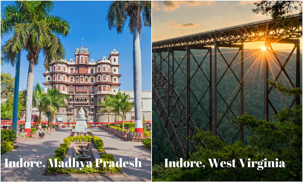 <p>Indore, is a city in west-central India, which is known for its delicious culinary experience. It is also known for the 7-story Rajwada Palace and the Lal Baag Palace from the 19th-century Holkar dynasty. Another Indore is an unincorporated community in Clay County, West Virginia. The community derives its name from Endor, a place mentioned in the Hebrew Bible.<br /><br />Image credits – Getty<br /></p>