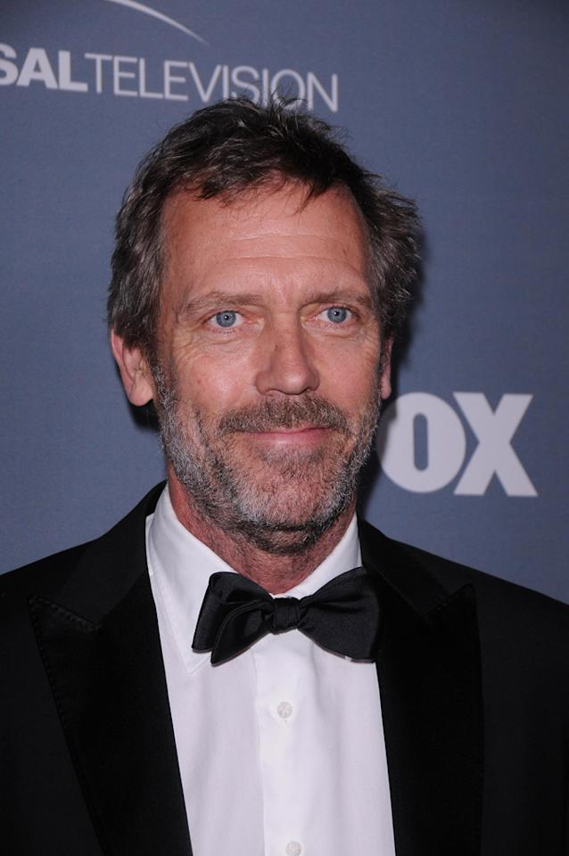 "Hugh Laurie arrives at the ""<a target=""_blank"" href=""http://tv.yahoo.com/house/show/36106"">House</a>"" Series Finale Wrap Party on Friday, April 20, 2012 at Cicada in downtown Los Angeles, California."