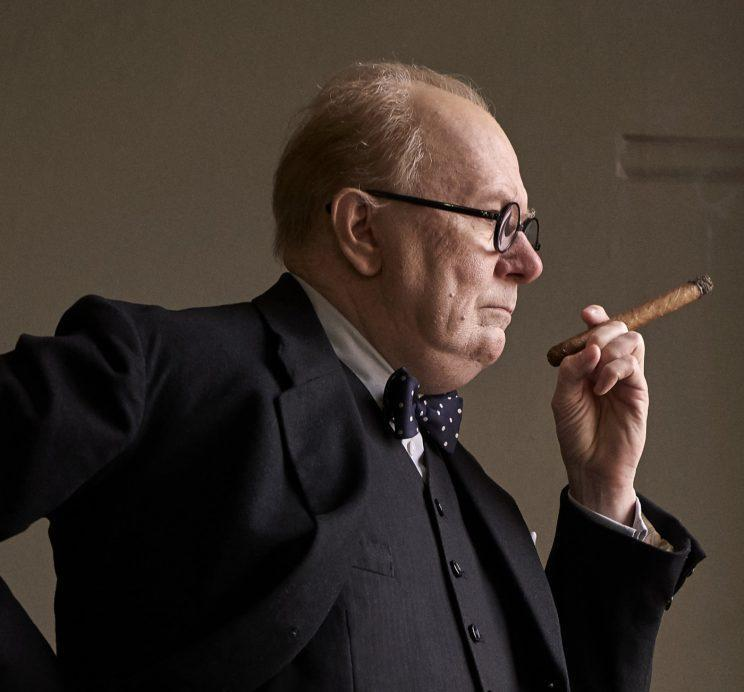 Churchill.. Gary Oldman on the extensive prosthetics needed to play British prime minister – Credit: Focus Features