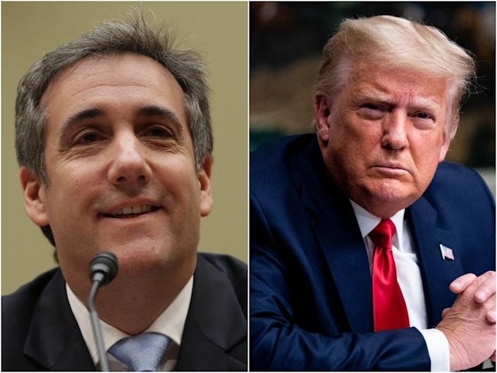 Michael Cohen advises Mary Trump on how to get her uncle's $ 100 million lawsuit to go backwards