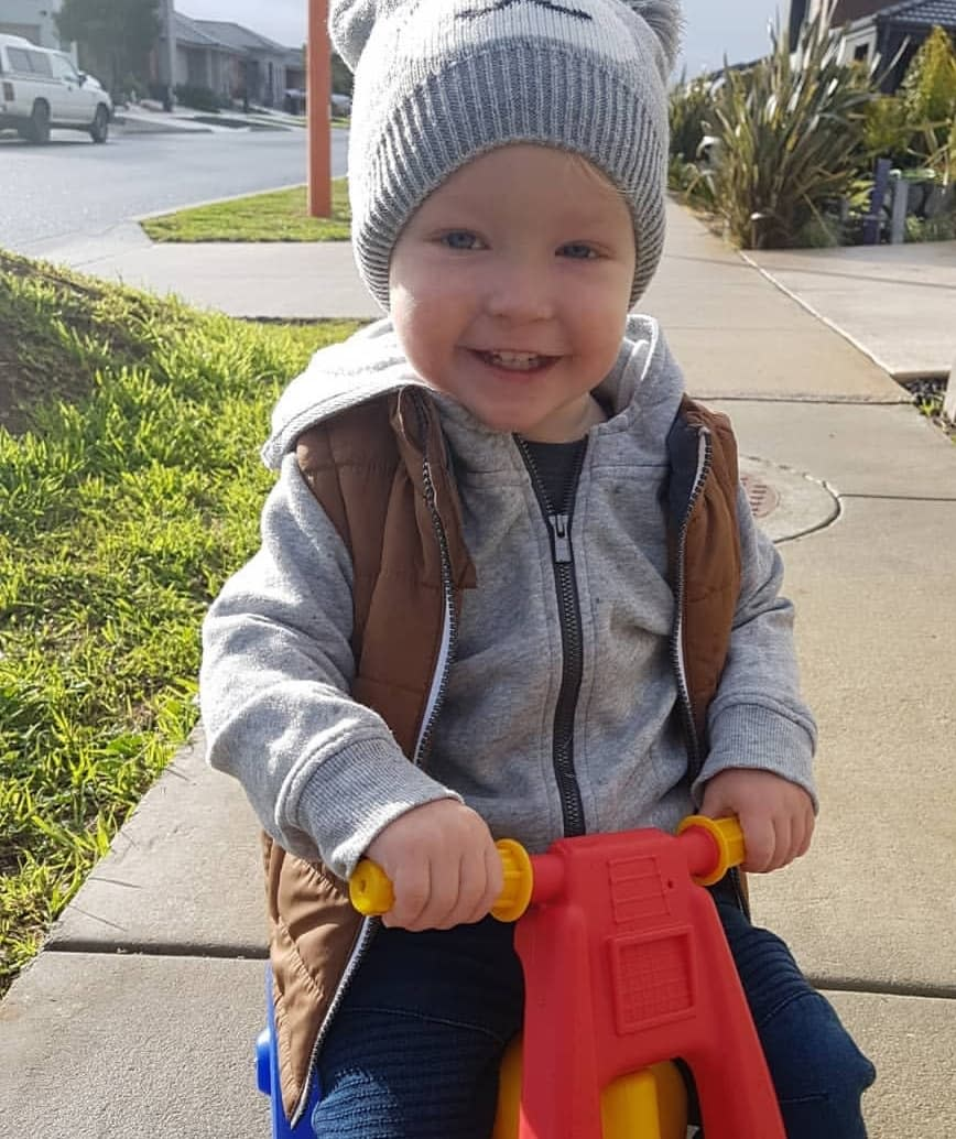 The family have been overwhelmed with the support they have received over Noah's death from the wider community.Source: Supplied