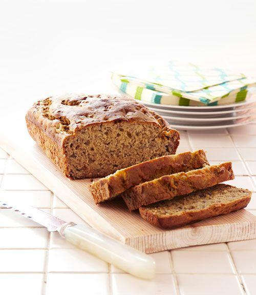 """<p>You might be under the delusion that baking a loaf of bread takes a whole lot of manpower — this recipe proves otherwise. You only need 15 minutes to make a rich batter for a sweet, moist banana bread that you can toss into the oven and simply walk away from.</p><p><em><a href=""""https://www.goodhousekeeping.com/food-recipes/a13950/banana-quick-bread-recipe-ghk0312/"""" rel=""""nofollow noopener"""" target=""""_blank"""" data-ylk=""""slk:Get the recipe for Banana Quick Bread »"""" class=""""link rapid-noclick-resp"""">Get the recipe for Banana Quick Bread »</a></em></p>"""