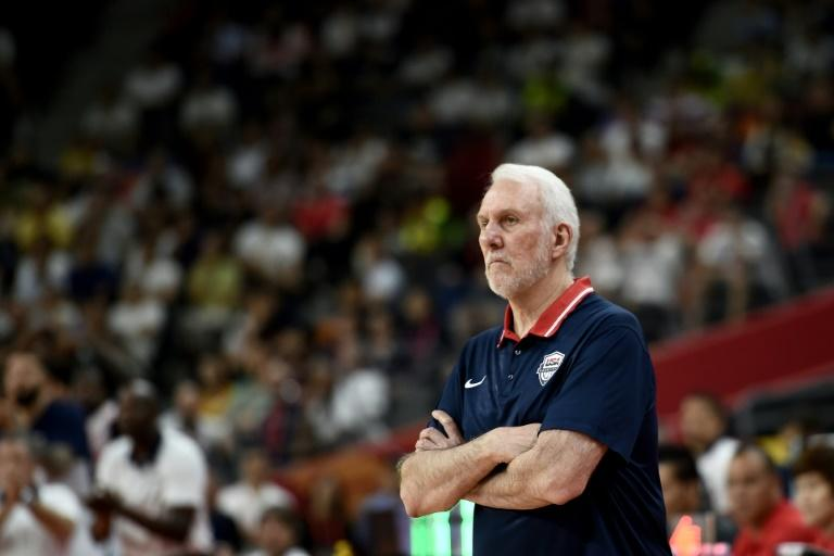 Team USA Coach Gregg Popovich had little to celebrate on the sidelines of the game against France, but said he was proud of his squad
