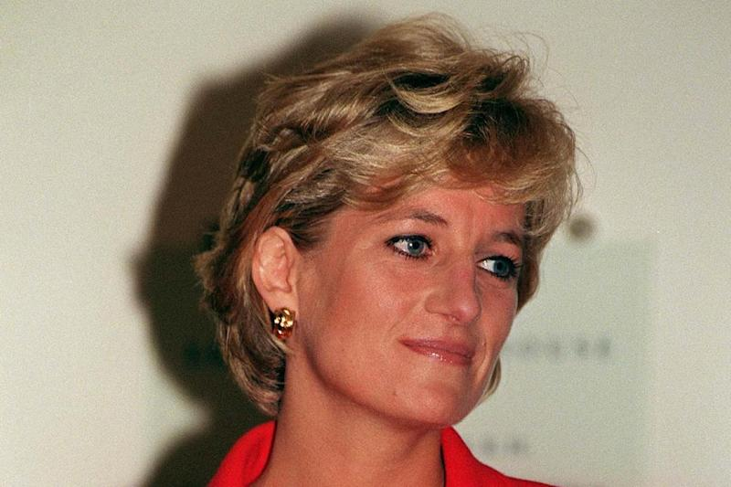 Princess Diana in 1996. (PA Wire/PA Images)