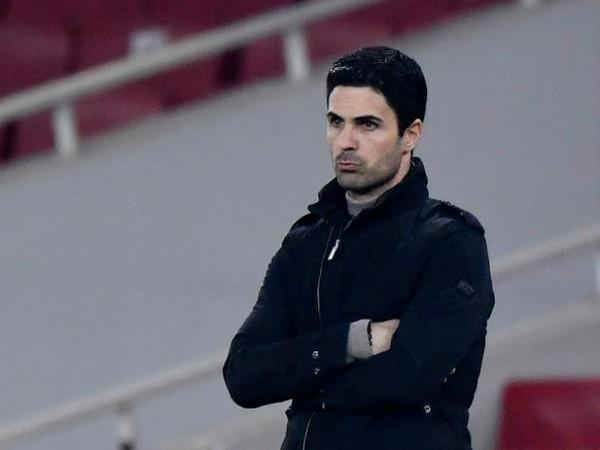 Arsenal manager Mikel Arteta (file image)