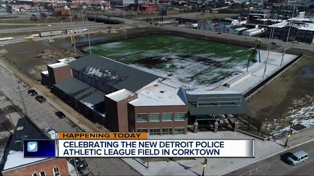 It's been almost two decades since the final game at Tiger Stadium in Corktown, but this weekend will see the first game with the opening of the Detroit Police Athletic League stadium dubbed the Detroit PAL Corner. There are two days of events leading up to Saturday's ribbon-cutting ceremony. Everything at the site is new and it's all for Detroit kids. On Friday morning, they'll hold a breakfast. The state-of-the-art stadium will give kids from Detroit the opportunity to play baseball on a historic field. The Detroit PAL offers 11 different athletic programs helping more than 13,000 boys and girls every year.