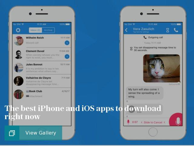 The best iPhone and iOS apps to download right now