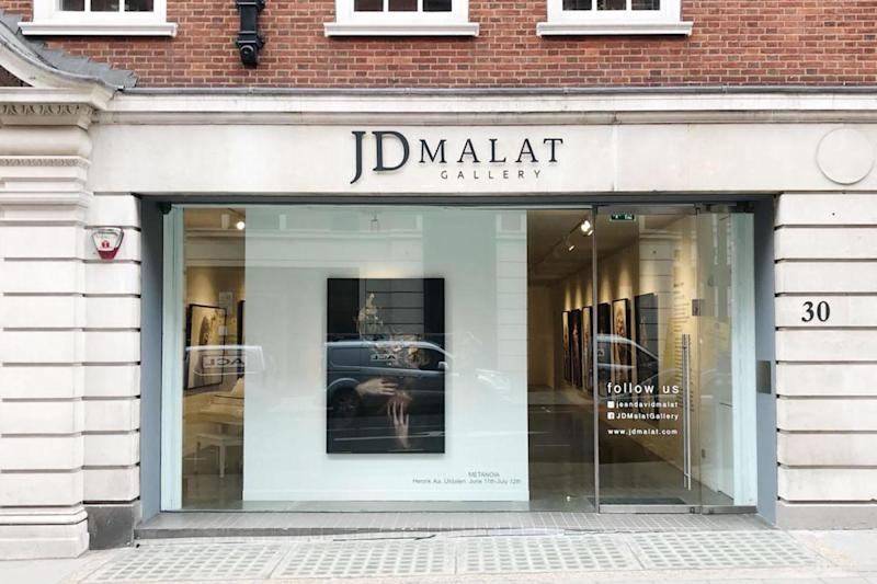 JD Malat Gallery is celebrating its one-year anniversary (JD Malat Gallery)