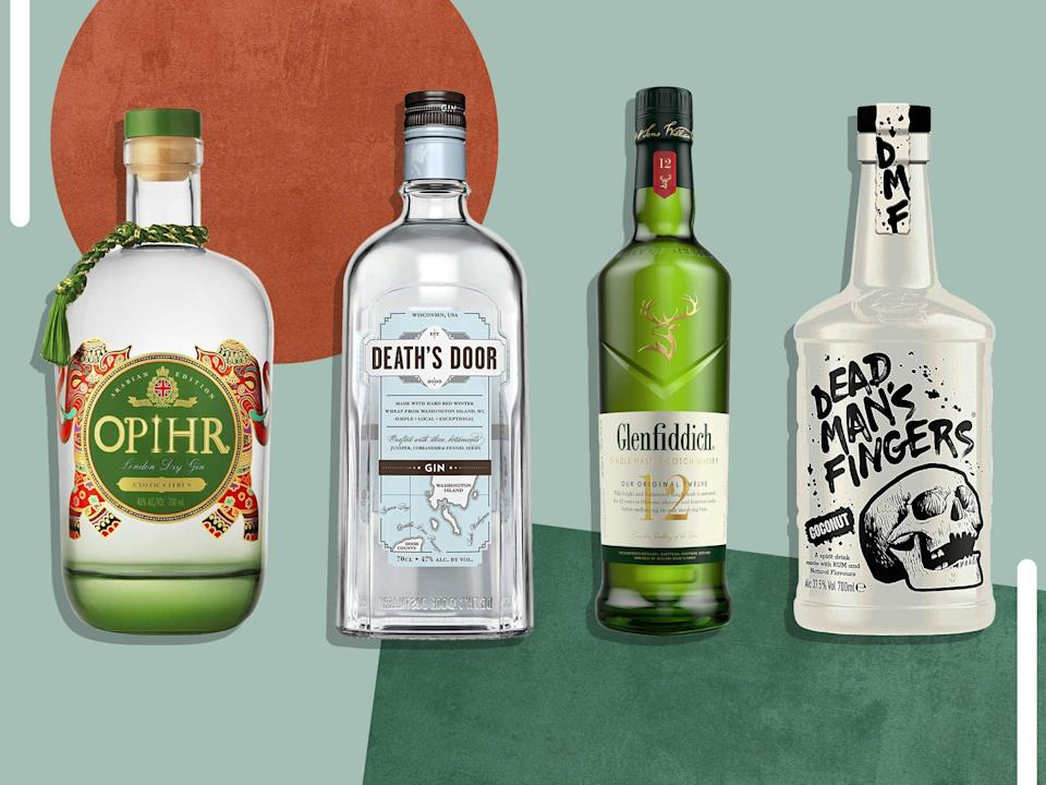 Stock your home bar cart with savings on Jack Daniel's, No.3, Haig Club, Glenfiddich and more (iStock/The Independent)