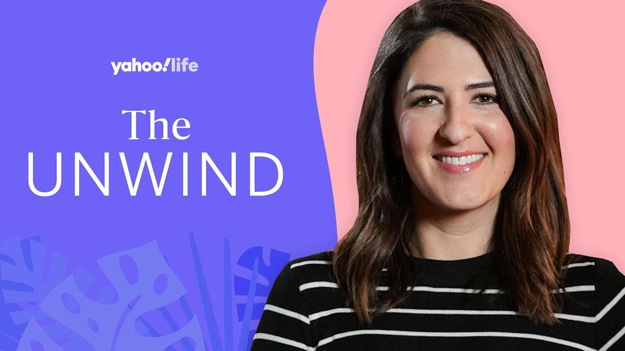 D'Arcy Carden talks Pilates, procrastinating and planning vacations. (Photo; Getty; designed by Quinn Lemmers)