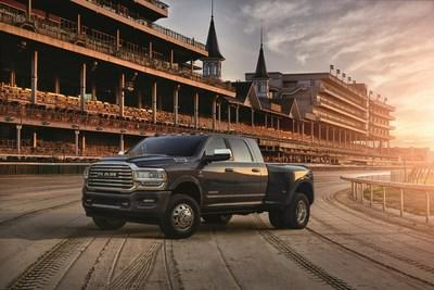 The Ram Truck brand celebrates 10 -Year anniversary as the Official Truck of Churchill Downs and the Kentucky Derby® with the debut of 2019 Special-edition Kentucky Derby Heavy Duty Pickup