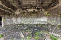 <p>The former parliament building still haunts many of those granted the chance to see its eerie remains. (Photo: Bob Thissen/Caters News) </p>
