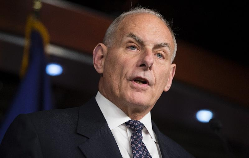 Trump has tapped Secretary of Homeland Security and retired Marine general John Kelly, shown here, to replace Reince Priebus as chief of staff