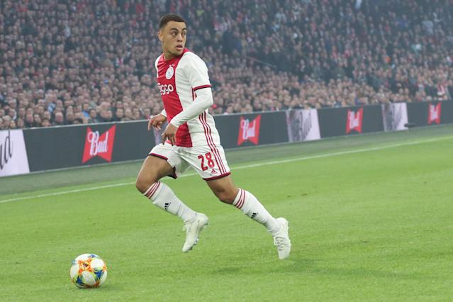 Considering his age and experience, Sergiño Dest has been remarkably consistent for Ajax Amsterdam this year. (Getty)
