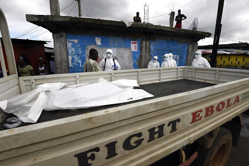Liberia is the worst hit of the West African nations at the centre of the Ebola epidemic, which has already killed 3,439 people according to the World Health Organization (AFP Photo/Pascal Guyot)