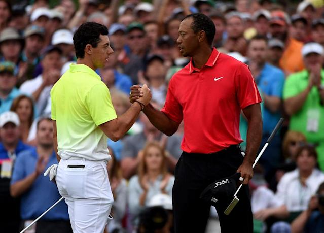 "<a class=""link rapid-noclick-resp"" href=""/pga/players/8016/"" data-ylk=""slk:Rory McIlroy"">Rory McIlroy</a> is great, but he's no Tiger. (Getty)"