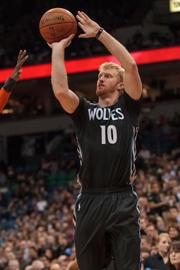 Timberwolves forward Chase Budinger could be on the move. (USA TODAY)