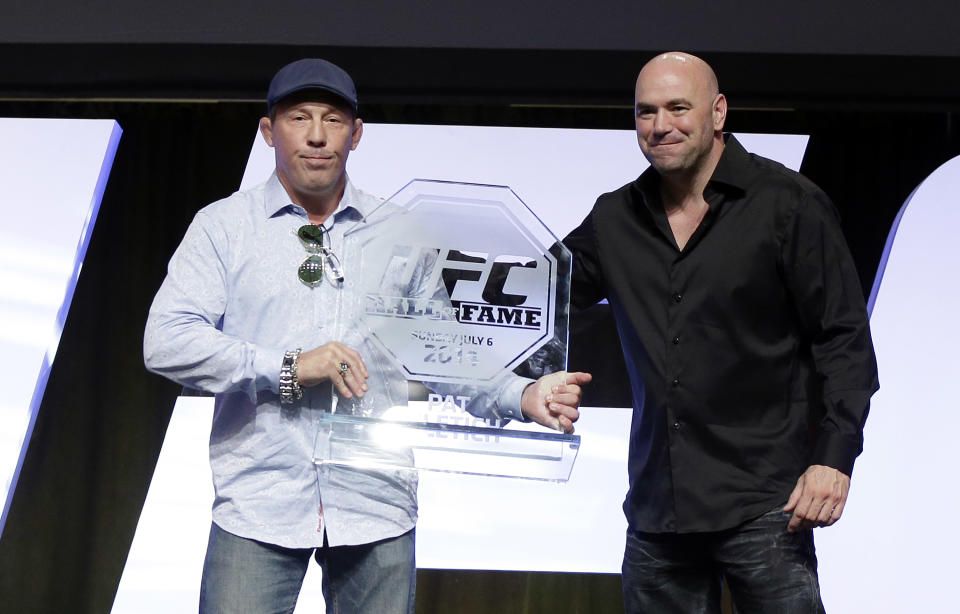 Pat Miletich and UFC President Dana White