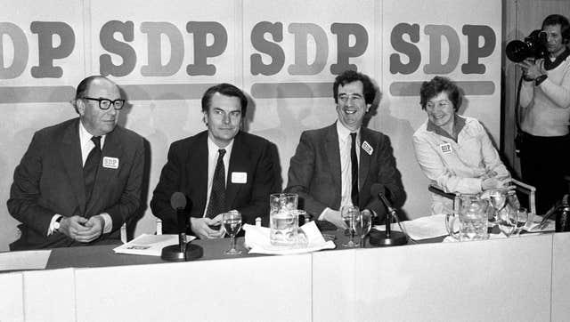 Social Democratic Party launch