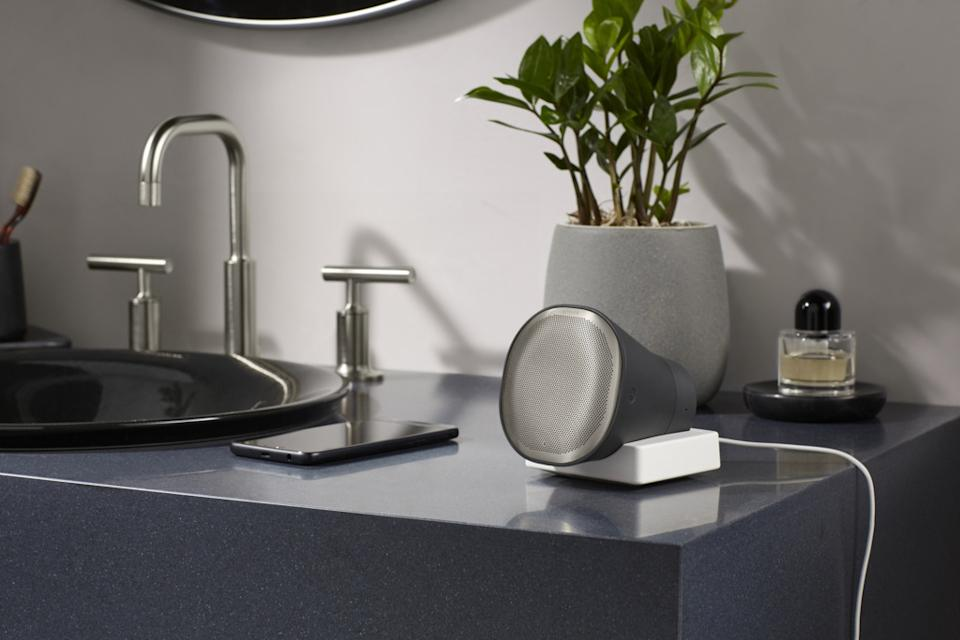 New KOHLER Moxie Showerhead + Wireless Speaker Brings A Connected Experience to the Shower