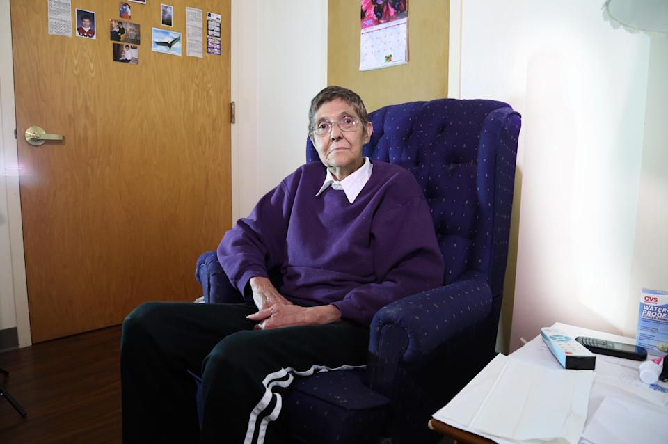 Marsha Wetzel, 70, is suing her former senior housing facility, which is alleged to have not protected her from antigay, bullying residents. (Photo: Courtesy of Lambda Legal)