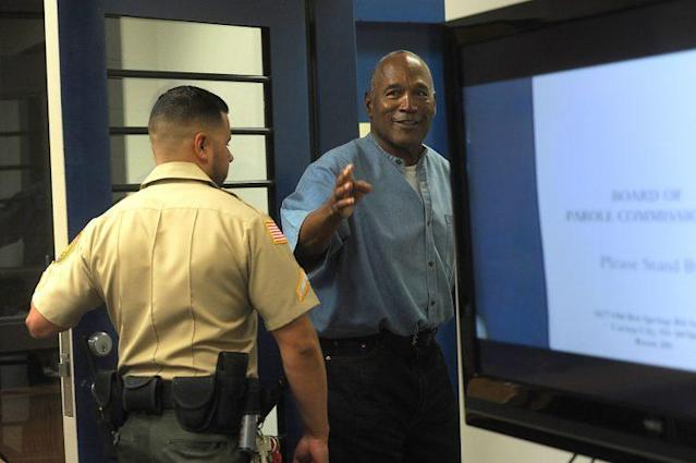 O.J. Simpson will be released from prison in October. (Getty)