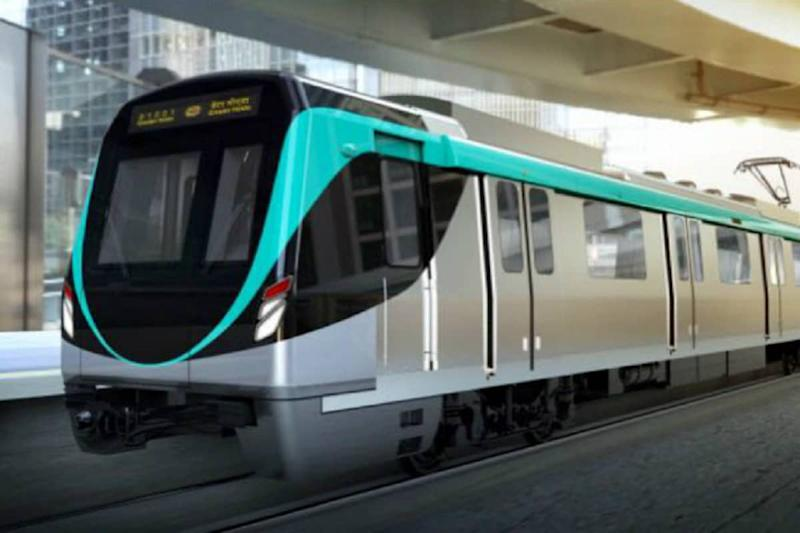 Noida Metro Resumes Operations, Commuters Screened for Body Temperature at Entry of Stations