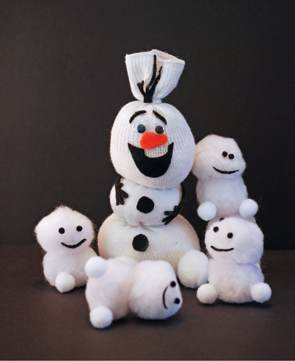 "<p>Next time your kids have a snow day, keep them entertained with this DIY <a href=""https://www.countryliving.com/life/entertainment/g5016/christmas-movies-for-kids/"" rel=""nofollow noopener"" target=""_blank"" data-ylk=""slk:Frozen"" class=""link rapid-noclick-resp""><em>Frozen</em></a> toy<em>.</em></p><p><strong>Get the tutorial at <a href=""https://onecreativemommy.com/frozen-fever-snowgies-craft-kids-baby-snowmen/"" rel=""nofollow noopener"" target=""_blank"" data-ylk=""slk:One Creative Mommy"" class=""link rapid-noclick-resp"">One Creative Mommy</a>.</strong></p><p><a class=""link rapid-noclick-resp"" href=""https://www.amazon.com/Darice-40-Piece-Acrylic-1-Inch-White/dp/B002PICQSY?tag=syn-yahoo-20&ascsubtag=%5Bartid%7C10050.g.22825300%5Bsrc%7Cyahoo-us"" rel=""nofollow noopener"" target=""_blank"" data-ylk=""slk:SHOP POM POMS"">SHOP POM POMS</a></p>"