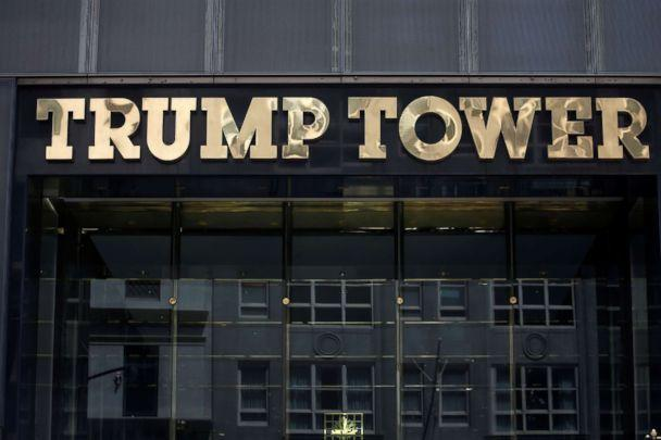 PHOTO: The Trump Tower logo is pictured in New York, May 23, 2016. (Carlo Allegri/Reuters, FILE)