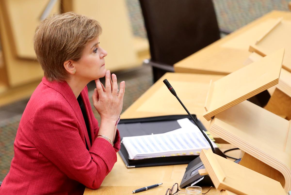 Nicola Sturgeon admits she could call in army amid rise in COVID patients