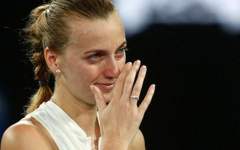 <span>Kvitova is into the semi-finals of a grand slam for the first time since a horrific knife attack back in Dec 2016</span> <span>Credit: Reuters </span>