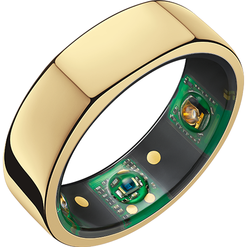 """<p>ouraring.com</p><p><strong>$399.00</strong></p><p><a href=""""https://ouraring.com/product/heritage-gold/step1?g_acctid=553-919-5922&g_campaign=US+Shopping+-+Smart&g_campaignid=11668205916&g_adgroupid=121989113188&g_adid=481319094904&g_keywordid=pla-293946777986&g_merchantid=133819039&g_productchannel=online&g_productid=39025&g_partition=293946777986&g_network=u&g_ifproduct=product&gclid=CjwKCAiAz4b_BRBbEiwA5XlVVnOVdw-7Iz-tM4jxbvDC3H_RYGofc4aVn27yJdrtL4GJGw2hQ9JcERoCF_IQAvD_BwE"""" rel=""""nofollow noopener"""" target=""""_blank"""" data-ylk=""""slk:Shop Now"""" class=""""link rapid-noclick-resp"""">Shop Now</a></p><p>""""I tend to have compliance issues with fitness trackers. I'm not accustomed to wearing a watch, so I forget to wear them, and I certainly can't sleep in them (also, why must they be so unattractive?). I am, however, completely devoted to my Oura ring, which comprehensively tracks sleep—everything from REM to resting heart rate—as well as daily activity. The Heritage Gold blends in with my other rings, and because it's waterproof, I never take it off.""""—April Long, Beauty Director </p>"""