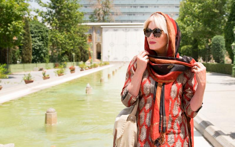 Silk Road: Lumley relishes acting as 'tour leader' in her travel documentaries - Television Stills