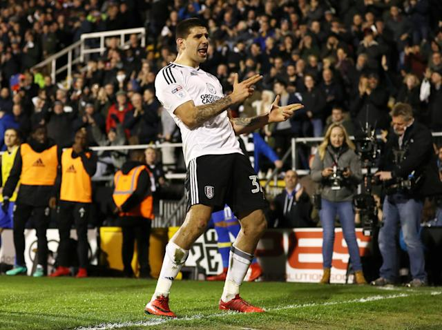 Aleksandar Mitrovic strike ensures Fulham keep up promotion pressure on Cardiff with impressive win over Leeds