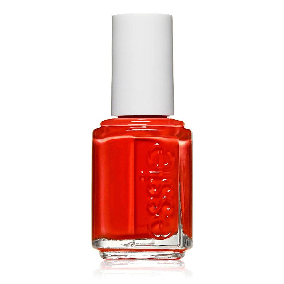 """<p><strong>essie</strong></p><p>amazon.com</p><p><strong>$8.25</strong></p><p><a href=""""https://www.amazon.com/dp/B004FGD0VG?tag=syn-yahoo-20&ascsubtag=%5Bartid%7C2141.g.34860244%5Bsrc%7Cyahoo-us"""" rel=""""nofollow noopener"""" target=""""_blank"""" data-ylk=""""slk:SHOP NOW"""" class=""""link rapid-noclick-resp"""">SHOP NOW</a></p><p>The <strong>perfect nail polish</strong> is hard to find and if she's been searching for a signature color, she'll be blown away by any of the reds from Essie's glossy, chip-free polish.</p>"""