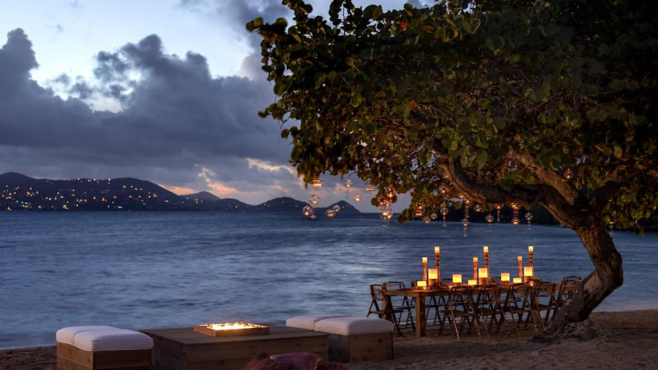 Quiet moments are plentiful at the Ritz-Carlton St. Thomas in the U.S. Virgin Islands.